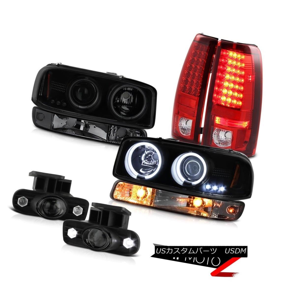 テールライト 99-02 Sierra 5.3L Smokey fog lamps smd tail brake bumper light ccfl Headlamps 99-02シエラ5.3Lスモーキーフォグランプsmdテールブレーキバンパーライトccflヘッドランプ