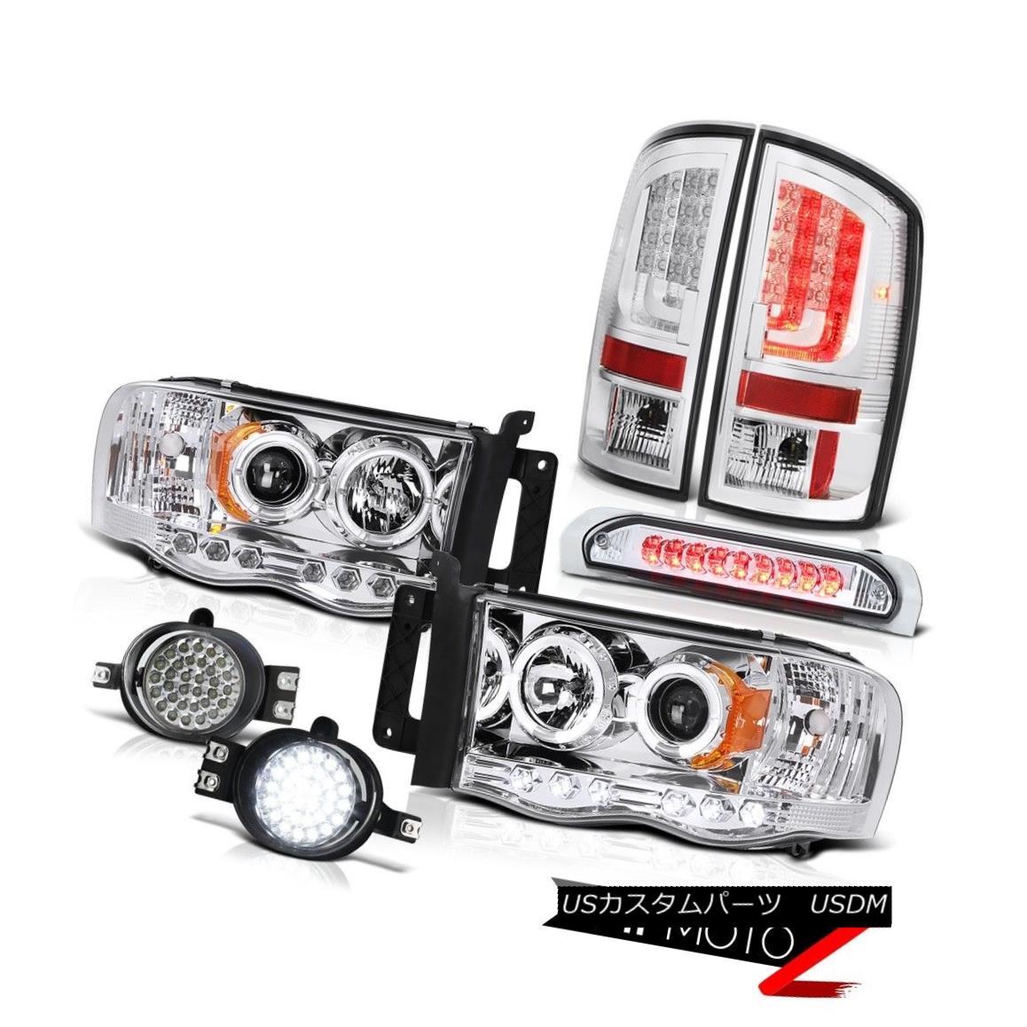 テールライト 2002-2005 Dodge Ram 2500 5.9L Tail Brake Lamps Headlamps Foglamps Roof Cab Light 2002-2005 Dodge Ram 2500 5.9Lテールブレーキランプヘッドランプフォグランプルーフキャブライト