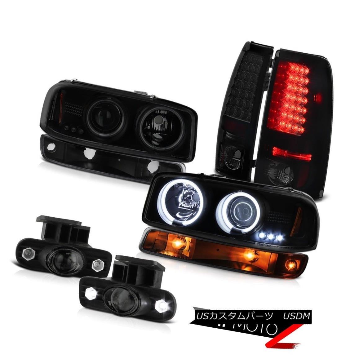 テールライト 1999-2002 Sierra SLT Smoked foglights led taillights signal lamp ccfl headlights 1999-2002 Sierra SLTスモーク・フォグライト・テールランプ信号ランプccflヘッドライト