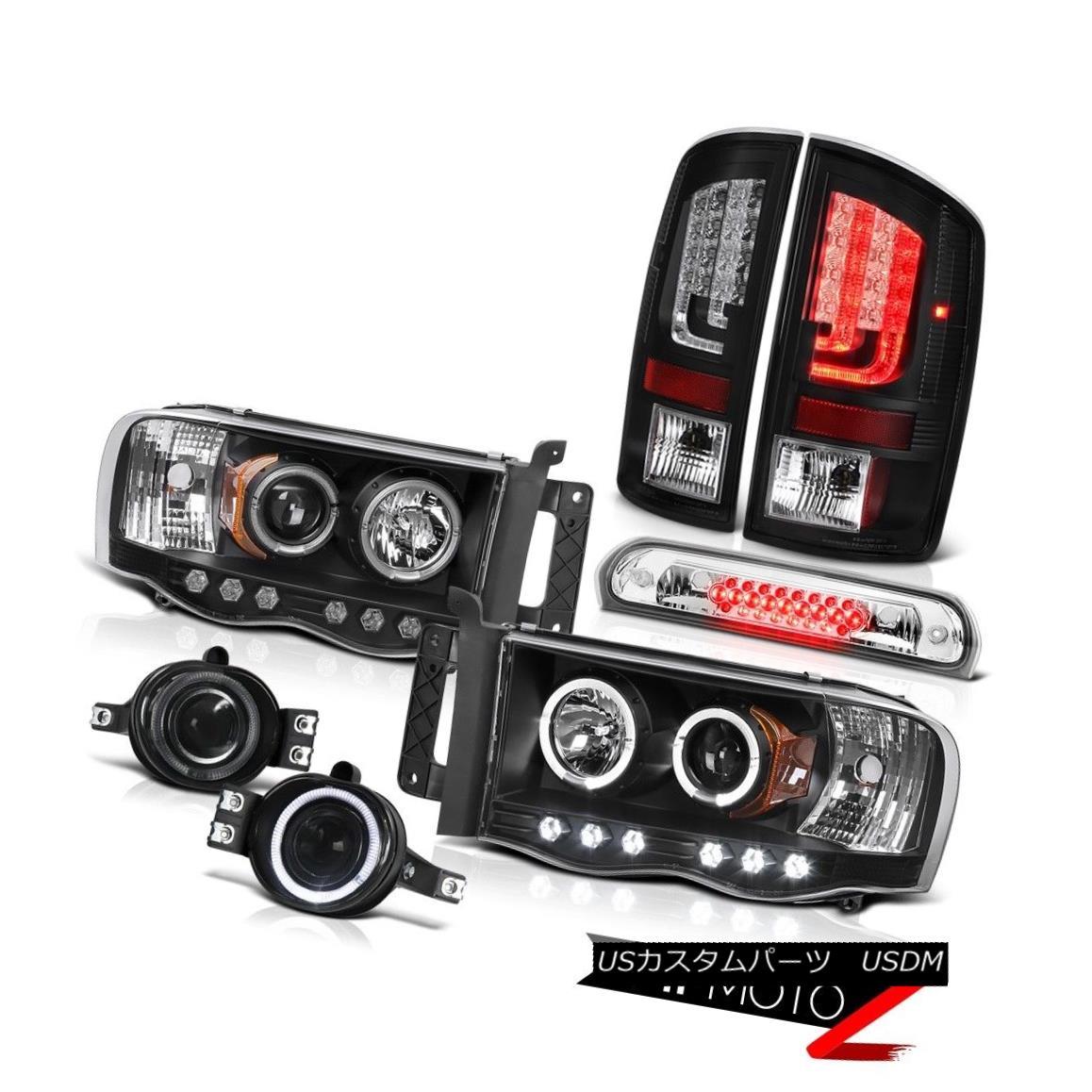 テールライト 2003-2005 Dodge Ram 2500 5.7L Tail Lamps Headlights Fog Roof Cab Lamp OLED Prism 2003-2005 Dodge Ram 2500 5.7LテールランプヘッドライトフォグルーフキャブランプOLEDプリズム