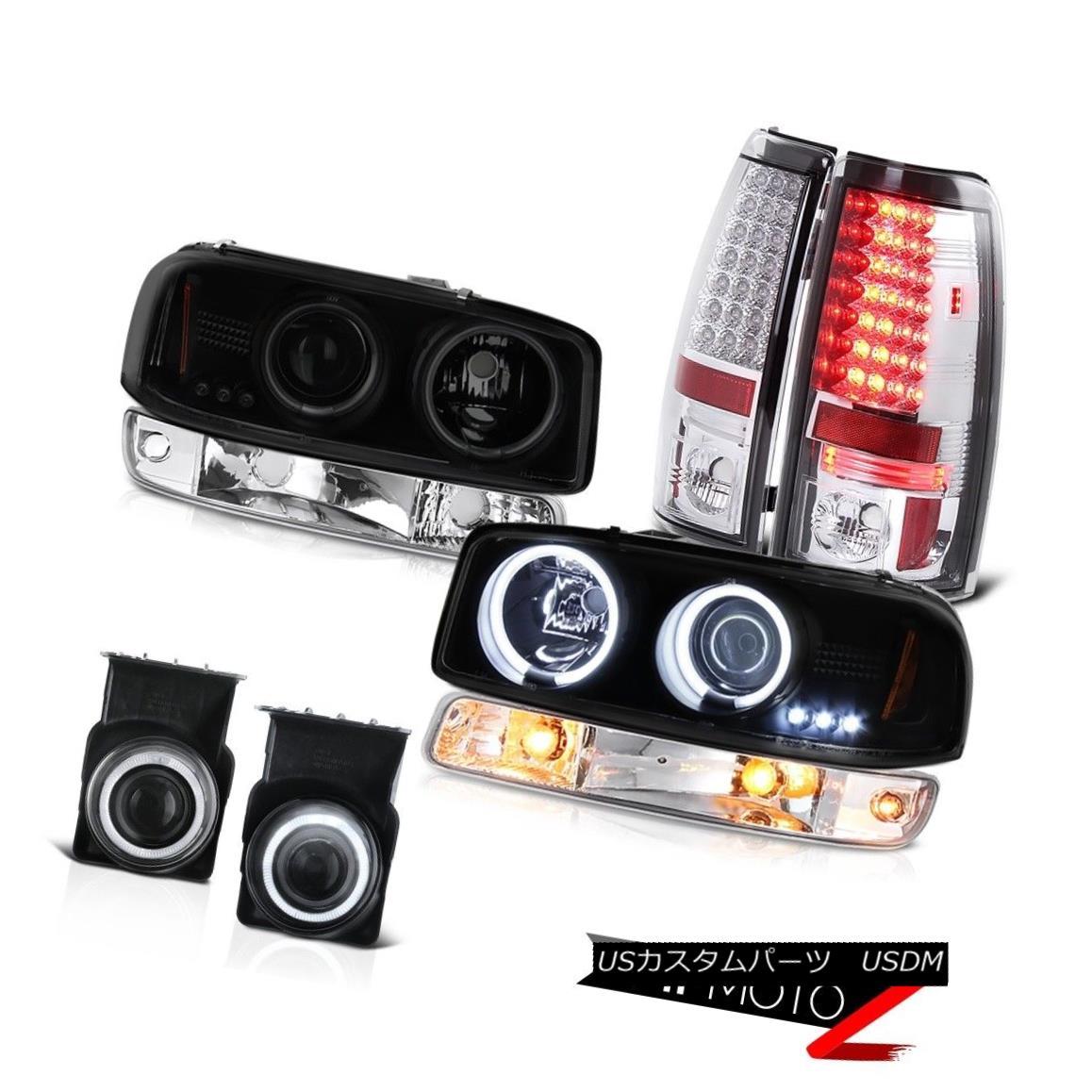 テールライト 03 04 05 06 Sierra 6.6L Foglights tail lamps parking light ccfl headlamps SMD 03 04 05 06シエラ6.6L FoglightsテールランプパーキングライトccflヘッドランプSMD