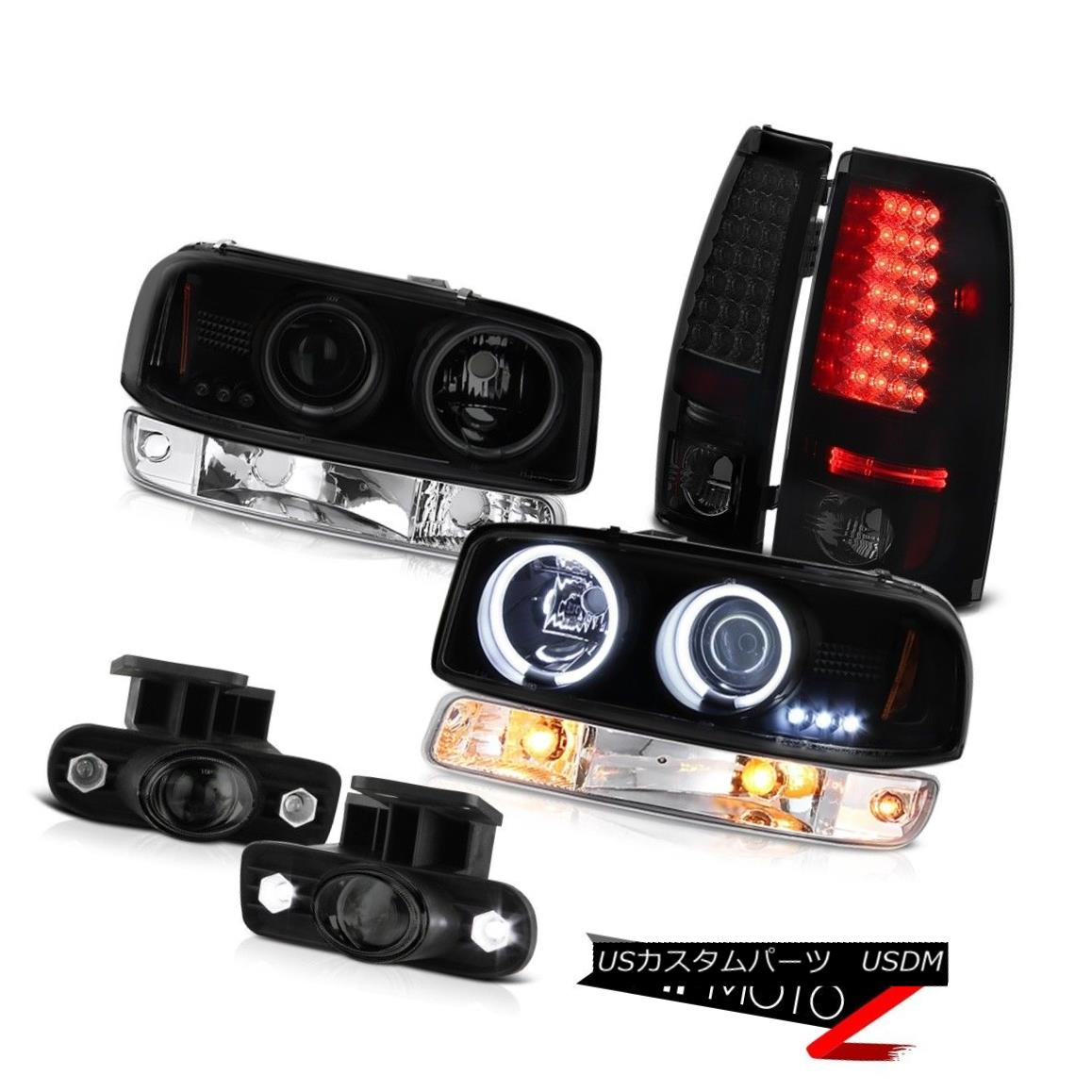 テールライト 99-02 Sierra SL Fog lights led taillights turn signal ccfl projector headlights 99-02シエラSLフォグライトは、テールランプターン信号ccflプロジェクターヘッドライトを導いた