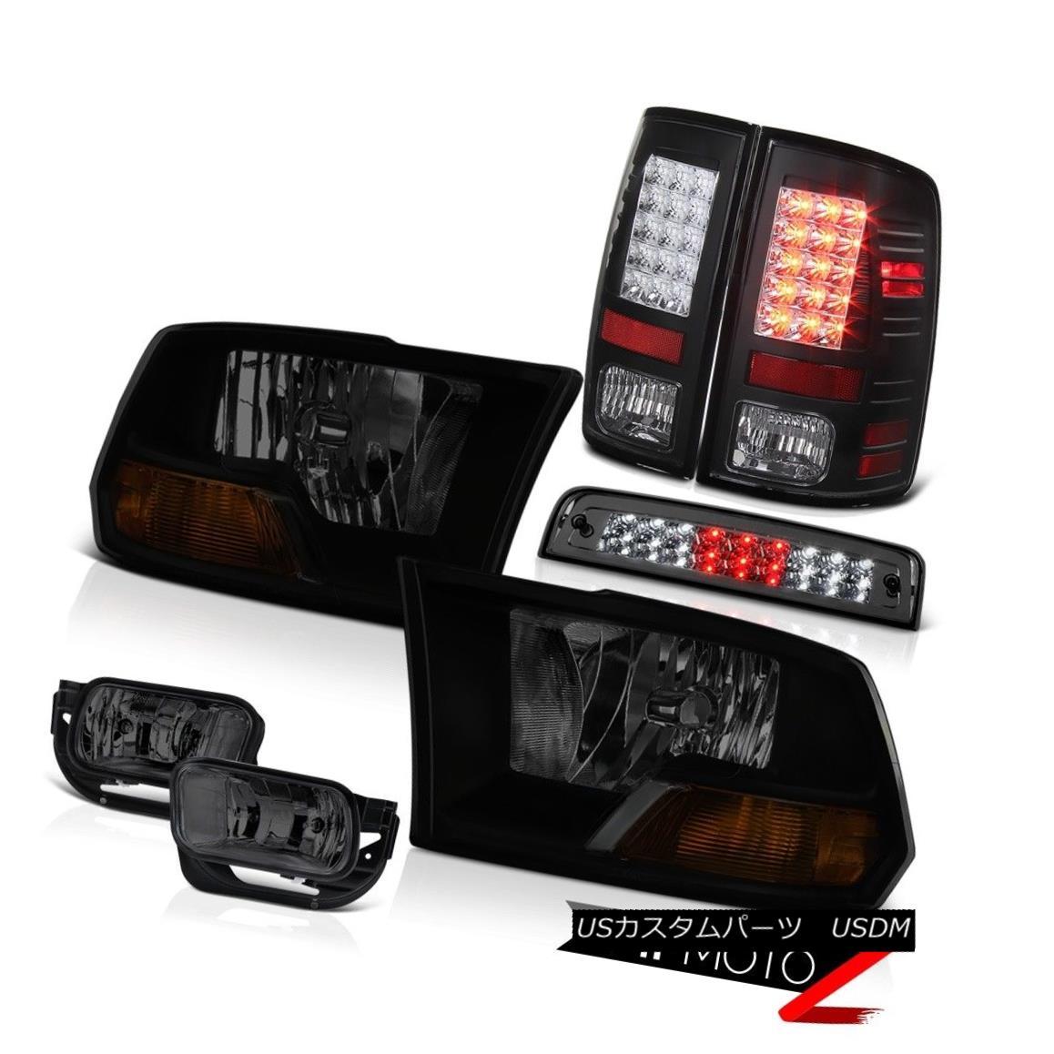 テールライト 2010-2018 Dodge Ram 3500 SLT Foglights Roof Cargo Light Tail Lamps Headlights 2010-2018 Dodge Ram 3500 SLTフォグライト屋根カーゴライトテールランプヘッドライト