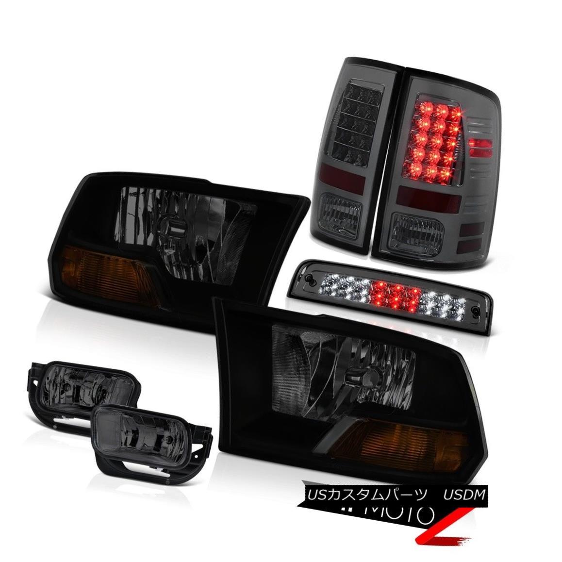 テールライト 10-18 Dodge Ram 2500 3500 3.0L Foglamps Roof Cab Lamp Tail Brake Lamps Headlamps 10-18 Dodge Ram 2500 3500 3.0Lフォグランプルーフキャブランプテールブレーキランプヘッドランプ