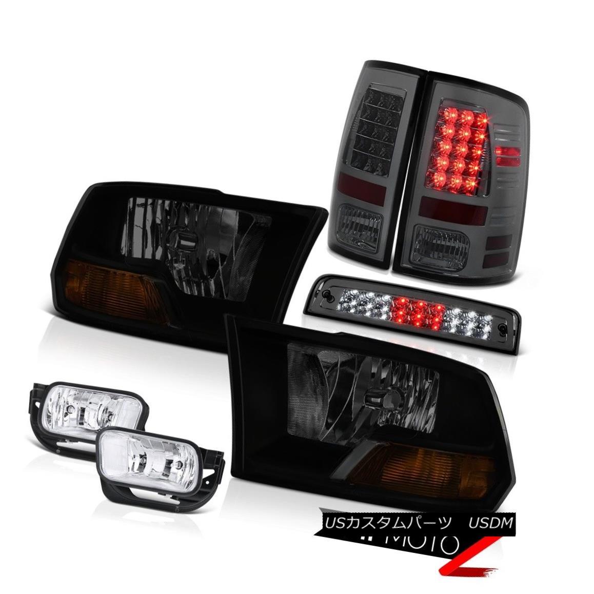 テールライト 2009-2013 Dodge Ram 1500 6.7L Fog Lights High Stop Lamp Taillamps Headlights LED 2009-2013 Dodge Ram 1500 6.7LフォグライトハイストップランプタイルランプヘッドライトLED