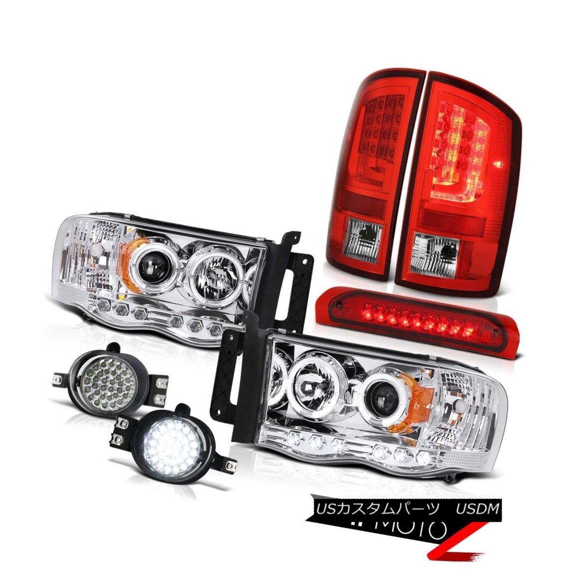 テールライト 2003-2005 Dodge Ram 1500 4.7L Taillights Headlamps Foglamps Roof Cargo Light LED 2003-2005ダッジラム1500 4.7LターンライトヘッドランプフォグランプルーフカーゴライトLED
