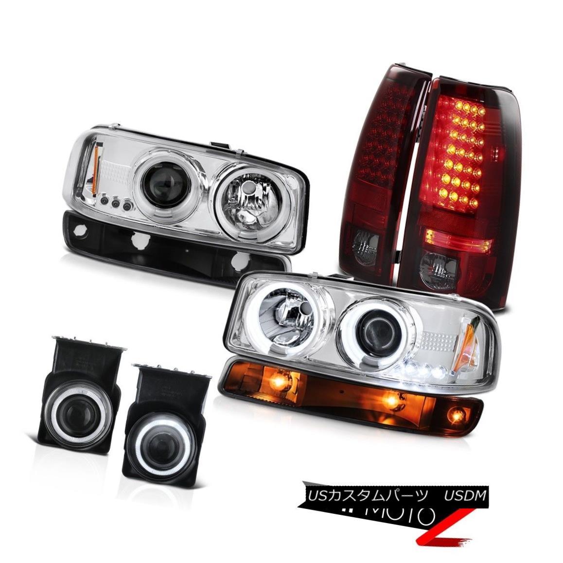 テールライト 03-06 Sierra SLE Foglamps led taillamps signal light ccfl headlights Projector 03-06 Sierra SLE Foglampsはテールランプ信号ライトccflヘッドライトプロジェクターを導いた