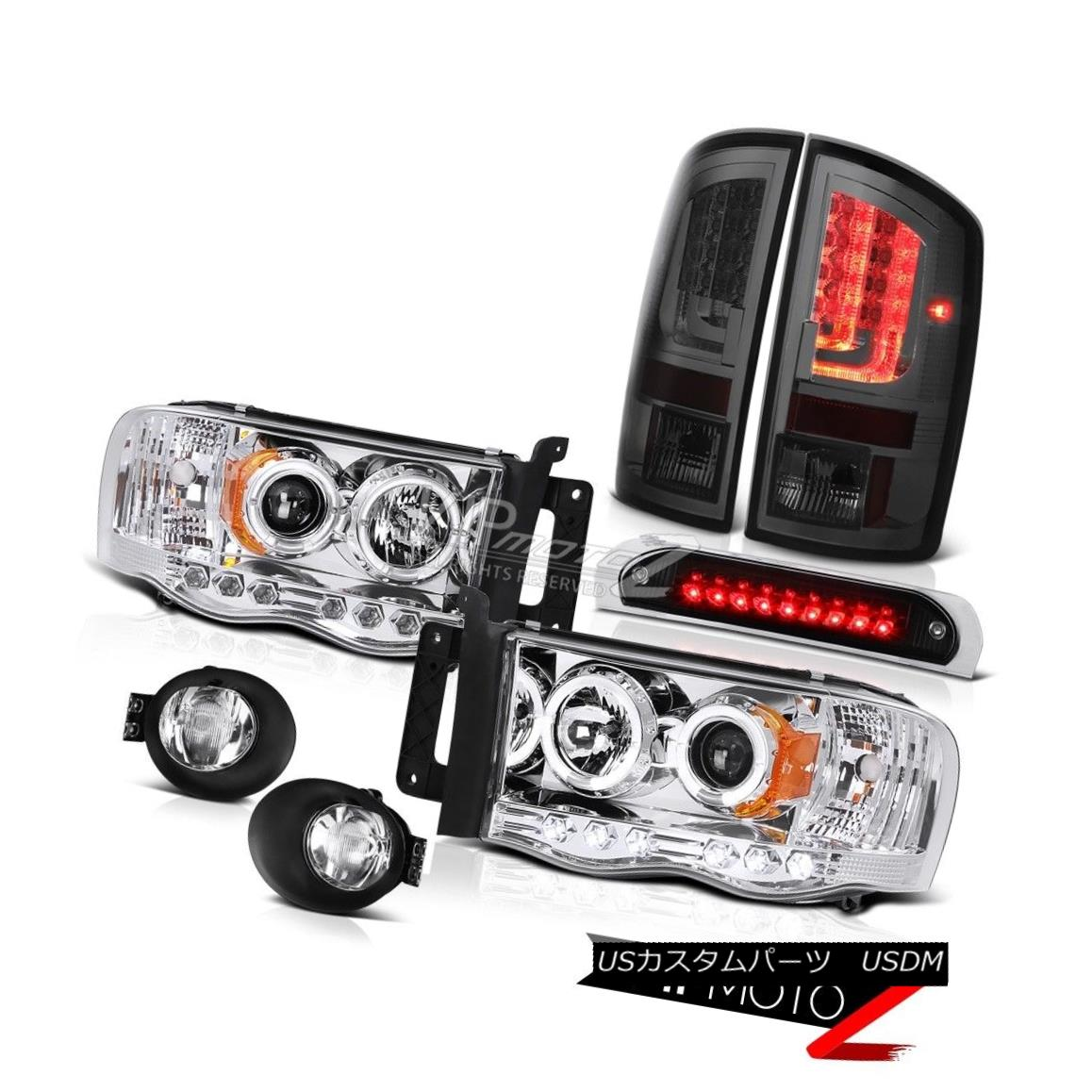テールライト 2002-2005 Dodge Ram 2500 5.9L Tail Lamps Fog 3RD Brake Lamp Headlights Neon Tube 2002-2005 Dodge Ram 2500 5.9Lテールランプフォグ3RDブレーキランプヘッドライトネオンチューブ