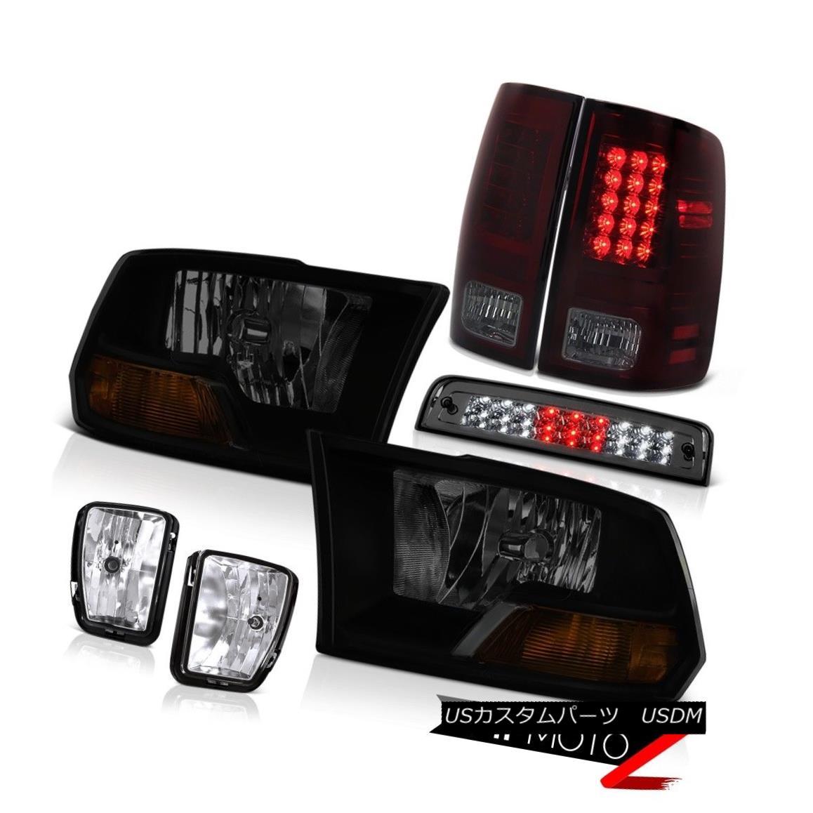 テールライト 2013-2018 Dodge Ram 1500 5.7L 3RD Brake Light Fog Lamps Tail Lights Headlamps 2013-2018 Dodge Ram 1500 5.7L 3RDブレーキライトフォグランプテールライトヘッドランプ