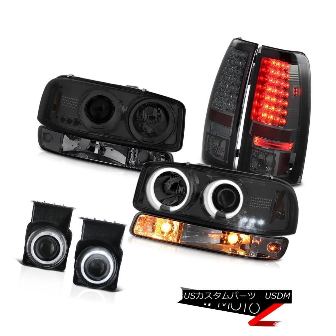テールライト 03-06 Sierra 4.3L Fog lights smokey tail turn signal ccfl projector Headlights 03-06シエラ4.3L霧ライトスモーテールターンシグナルccflプロジェクターヘッドライト