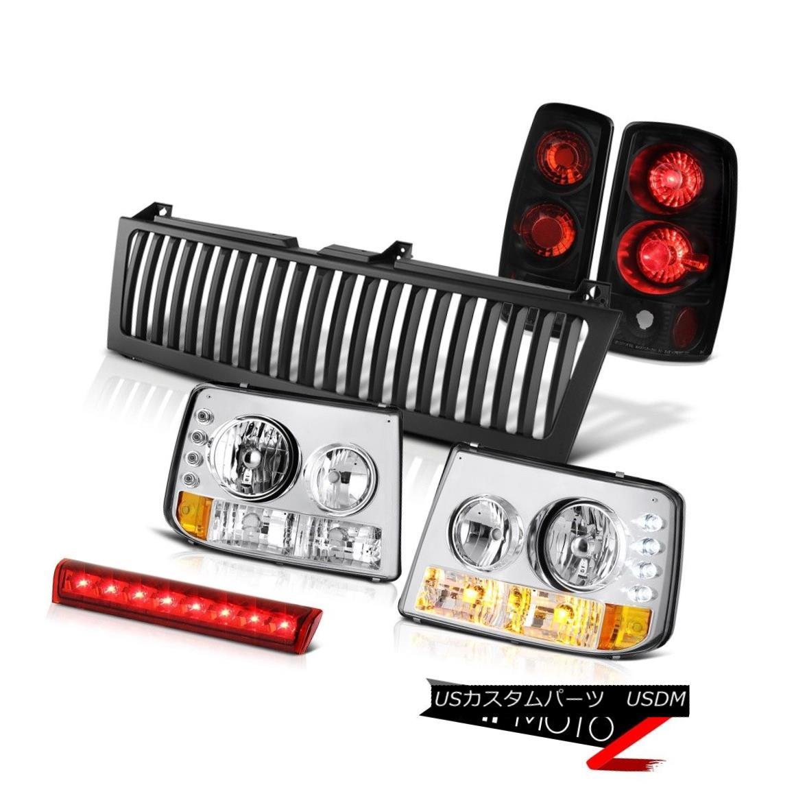 テールライト Signal Headlamps Rear Brake Tail Lights Cargo LED Grille 2000-2006 Suburban 2500 信号ヘッドランプリアブレーキテールライトカーゴLEDグリル2000-2006郊外2500