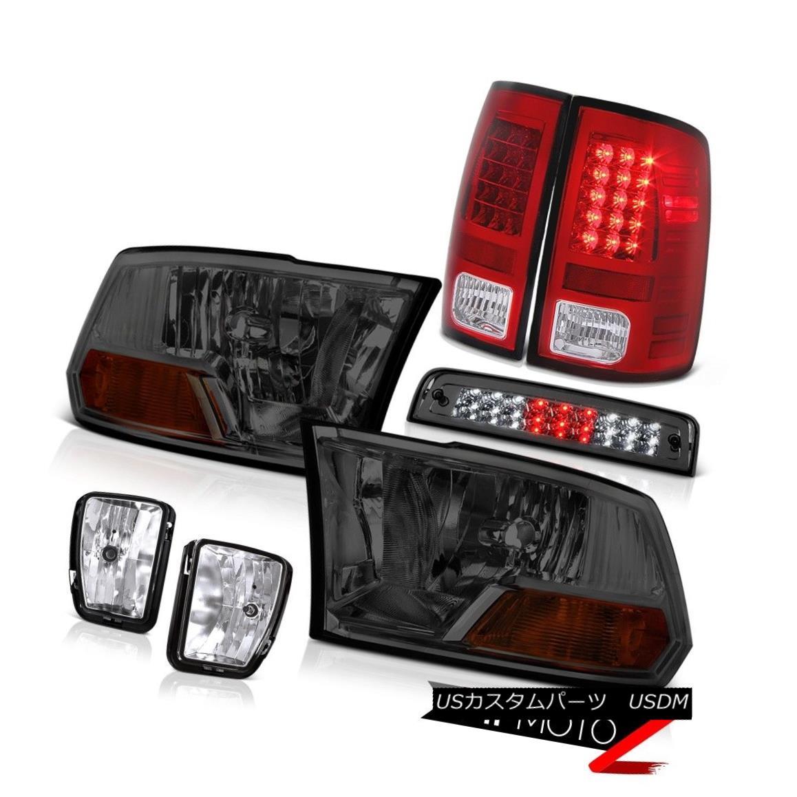テールライト 13-18 Dodge Ram 1500 5.7L 3RD Brake Light Chrome Fog Lamps Tail Lights Headlamps 13-18 Dodge Ram 1500 5.7L 3RDブレーキライトクロームフォグランプテールライトヘッドランプ
