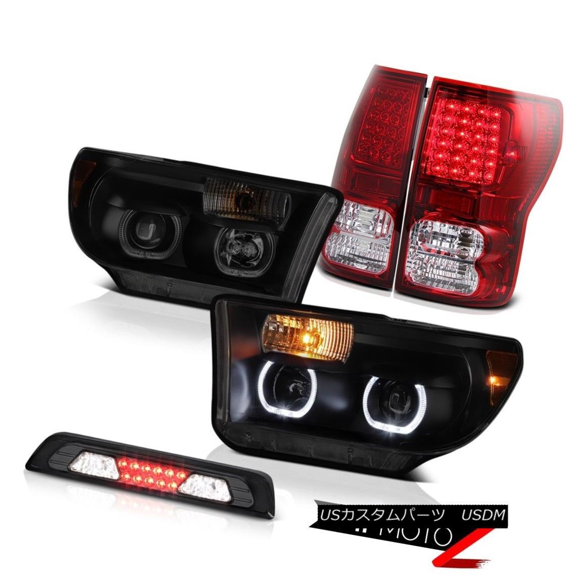 テールライト 07-13 Toyota Tundra Limited Headlamps Roof Brake Light Taillamps