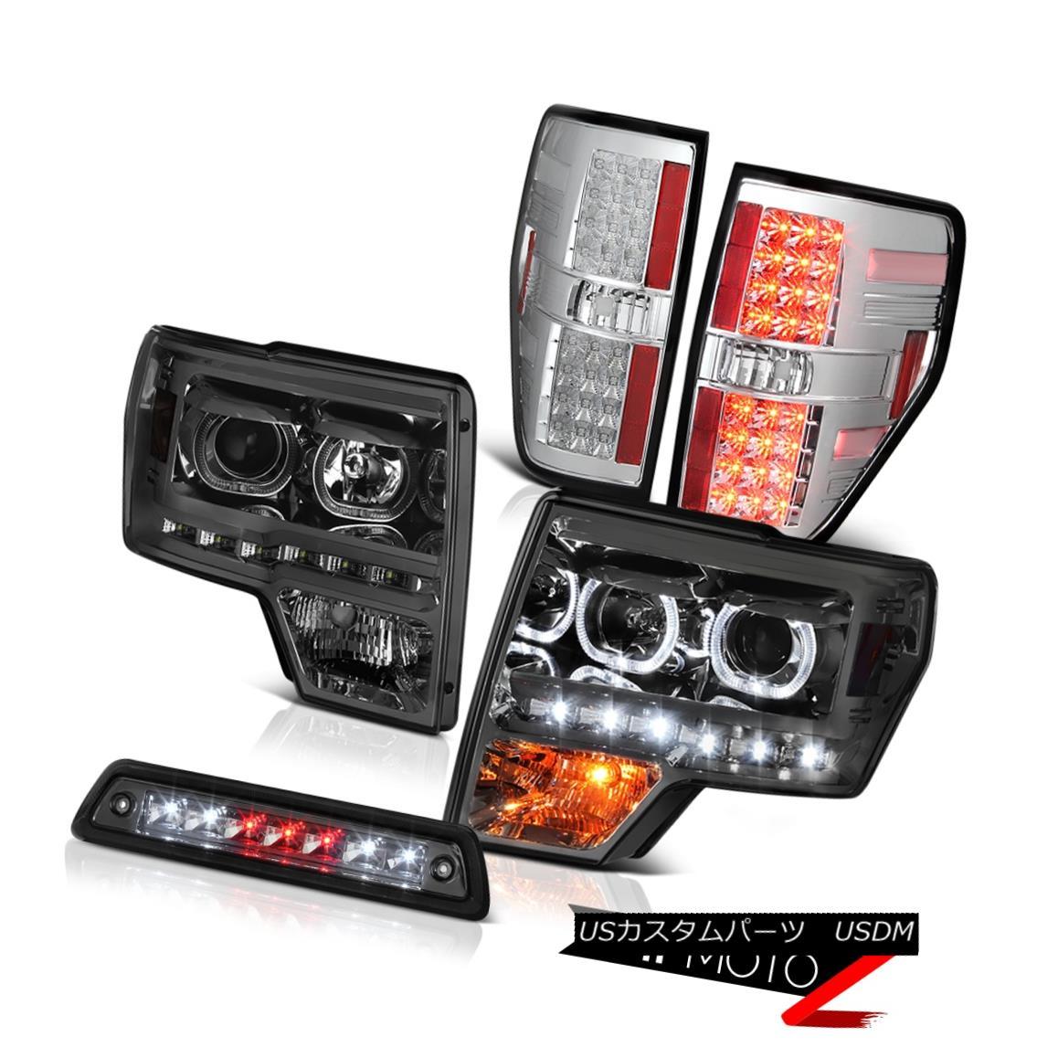 テールライト 09-14 F150 FX4 Roof cab lamp taillamps headlamps LED SMD Halo Rim