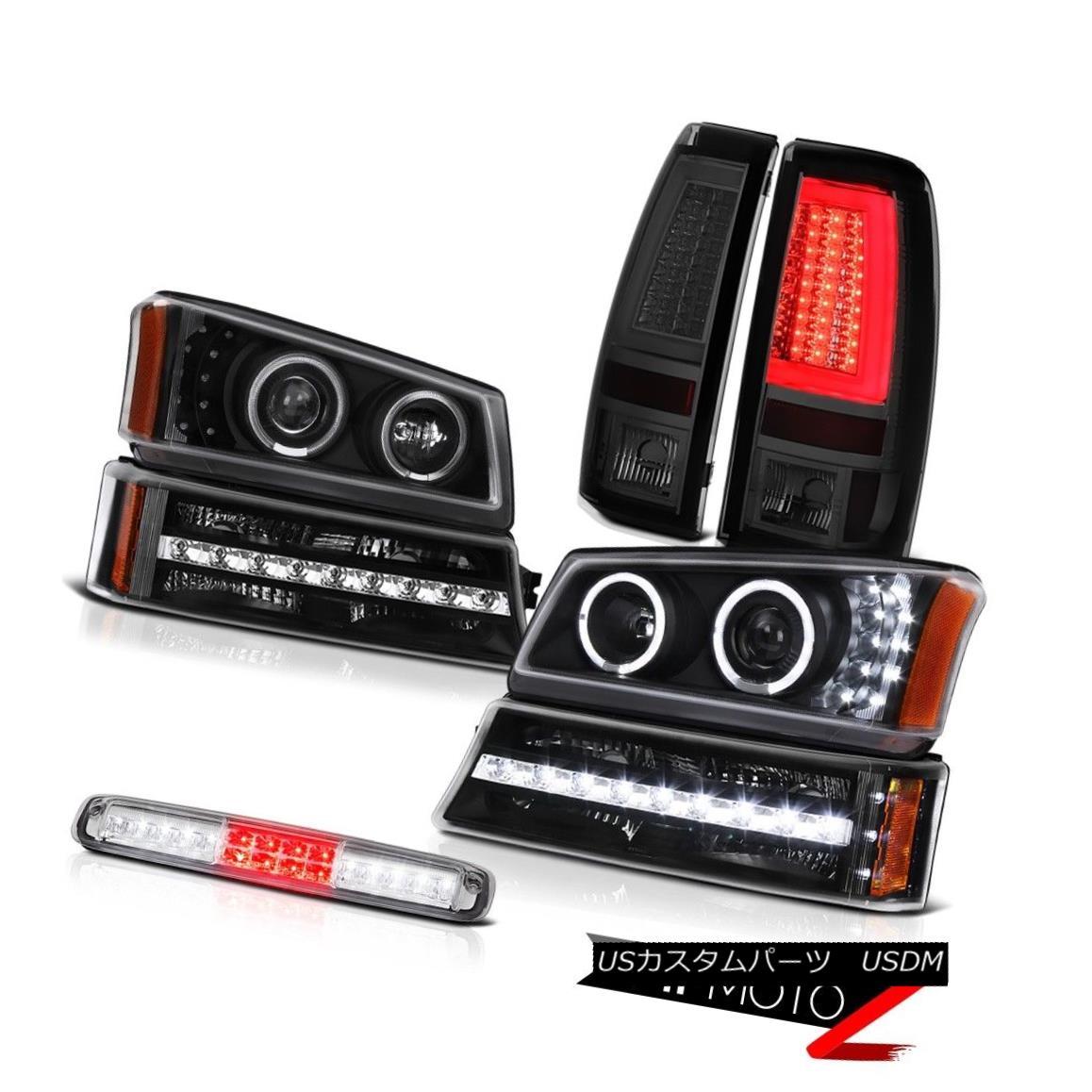 テールライト 03-06 Silverado 3500Hd Taillights Roof Brake Light Headlamps Signal