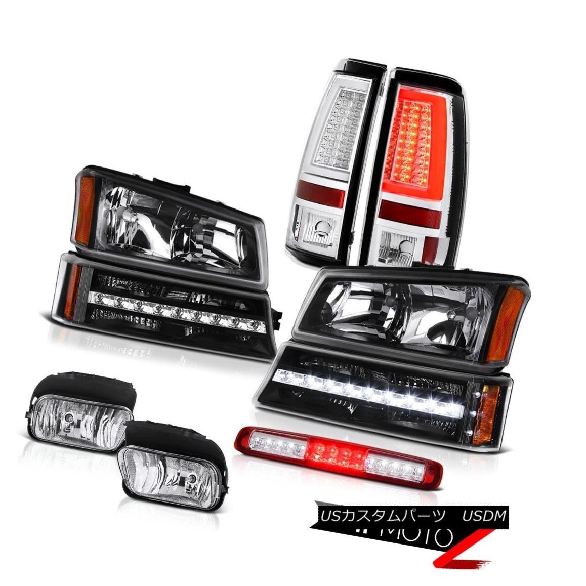 テールライト 03-06 Silverado Taillamps Foglights Roof Cab Lamp Headlights Bumper