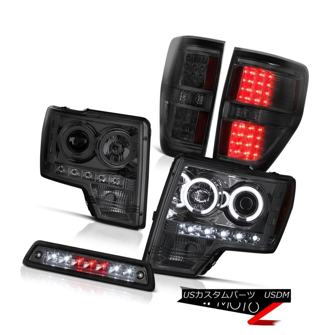 テールライト 09-14 FORD F150 FX2 Third brake light rear lamps Headlamps CCFL Rim CCFL Halo 09-14フォードF150 FX2第3ブレーキライトリヤランプヘッドランプCCFLリムCCFLハロー