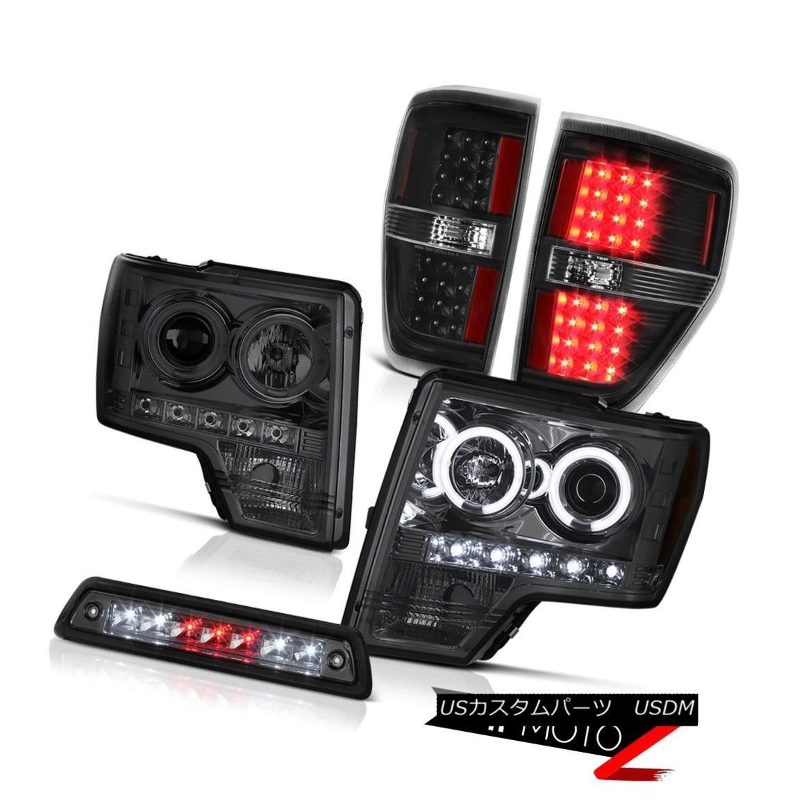 テールライト 2009-2014 F150 5.0L Roof cab lamp matte black taillights headlamps LED Newest 2009-2014 F150 5.0Lルーフキャブ・ランプマット・ブラック・テールライトヘッドランプLED最新