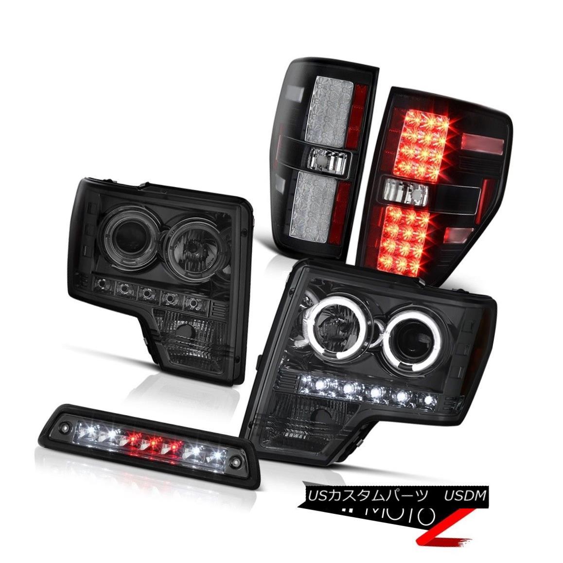 テールライト 2009-2014 F150 3.5L Smoked 3rd brake light tail lights Headlamps
