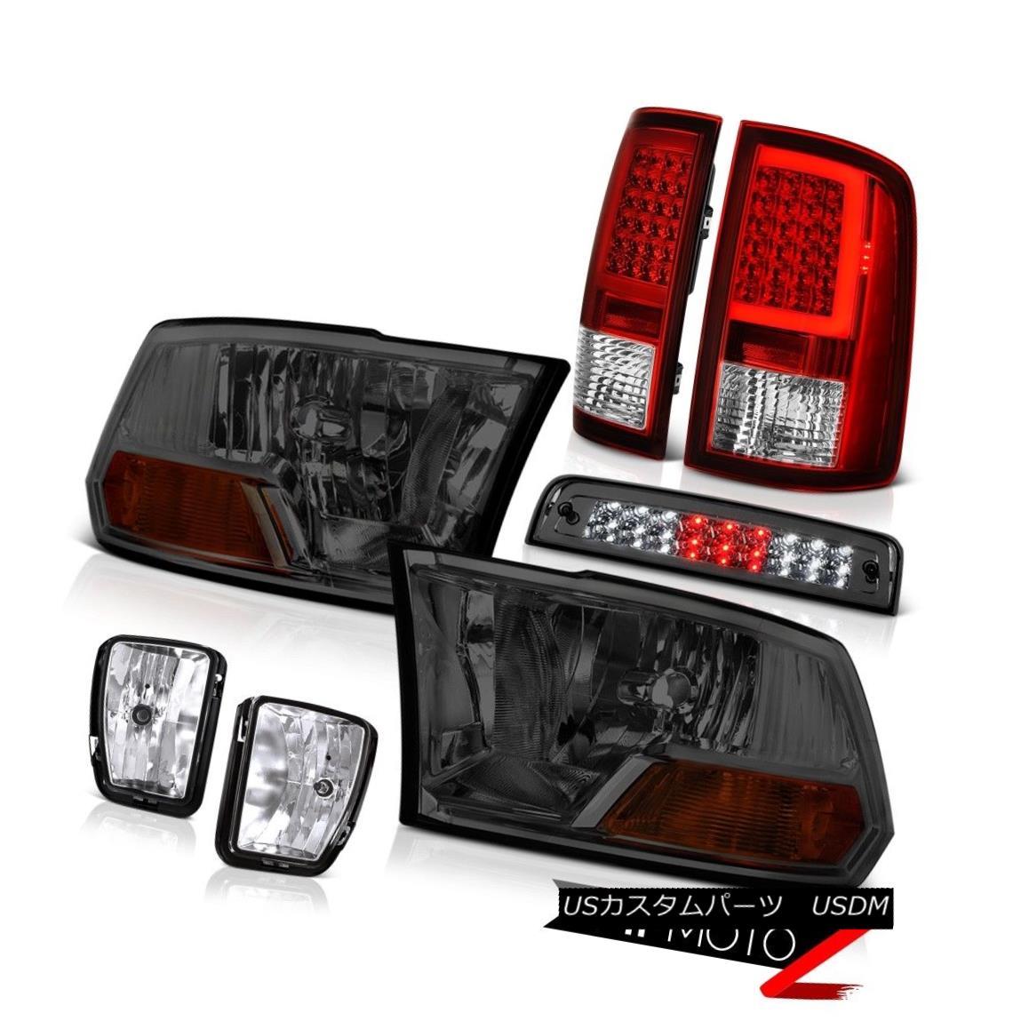 テールライト 13-18 RAM 1500 Tail Lamps Brake Lights Fog Factory Style Headlight Assembly SET 13-18 RAM 1500テールランプブレーキライトフォグ工場スタイルヘッドライトアセンブリSET