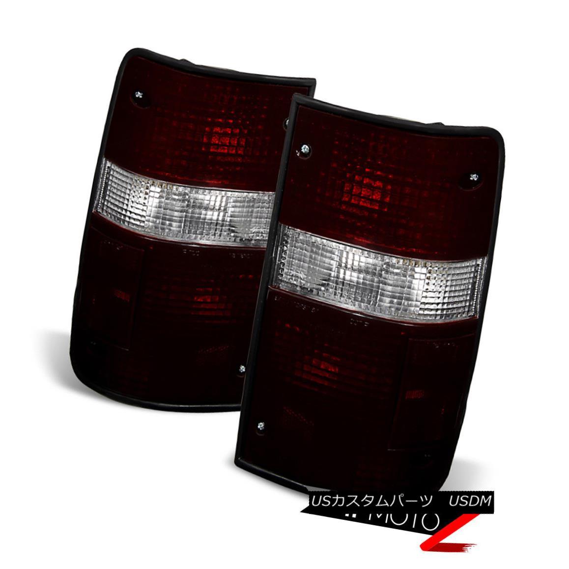 テールライト [DARK RED SMOKE] 1989-1995 Toyota PickUp Hardbody Signal Brake Tail Lights PAIR [DARK RED SMOKE] 1989-1995 Toyota PickUpハードボディ信号用テールライトPAIR