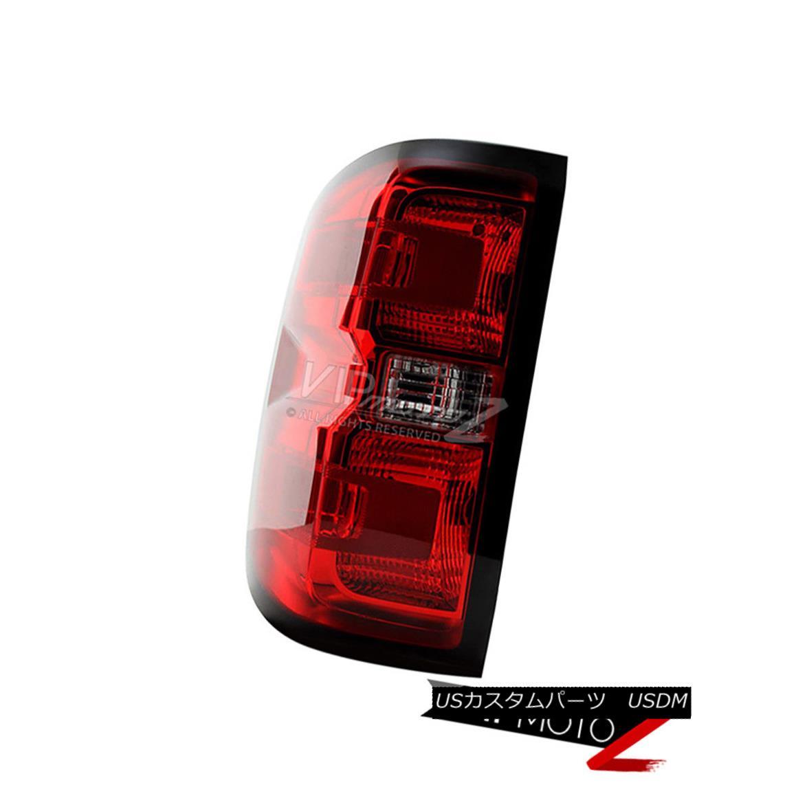 テールライト 2014-2018 Chevy Silverado 1500 2500 3500 Factory Style Tail Lights Assembly Left 2014-2018 Chevy Silverado 1500 2500 3500工場スタイルテールライトアセンブリ左