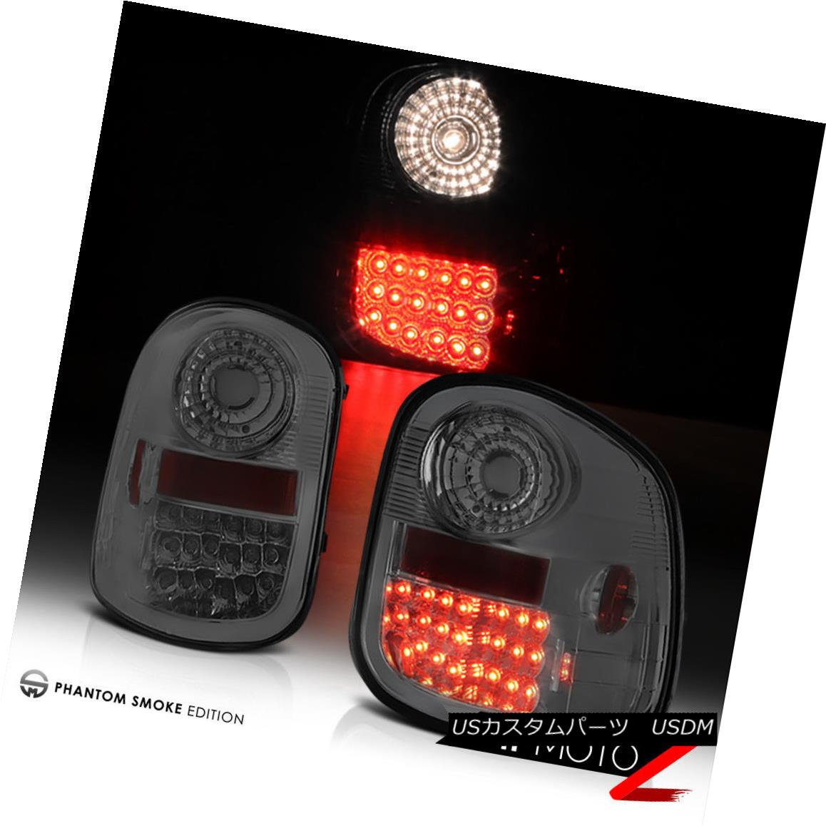 テールライト 97-03 Ford Flare-side 150 LED {SMOKING CHROME} Tail Light Rear Brake Lamp Pair 97-03 Ford Flare-side 150 LED {喫煙用クローム}テールライトリアブレーキランプペア