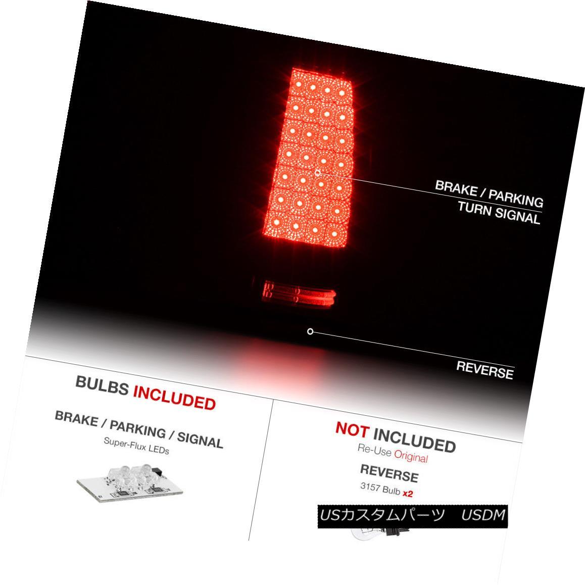 For Chevy Silverado 1500 1999-2002 CG Black LED Turn Signal//Parking Lights