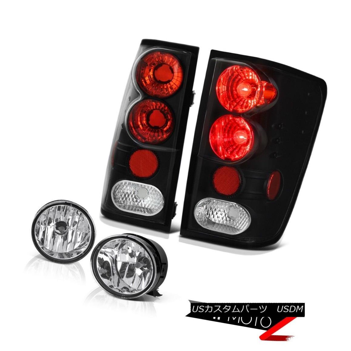 テールライト For 2004-2015 Titan SL Signal Tail Light Assembly Black Chrome Bumper Fog Lamp 2004年?2015年Titan SL信号テールライトアセンブリブラッククロムバンパーフォグランプ