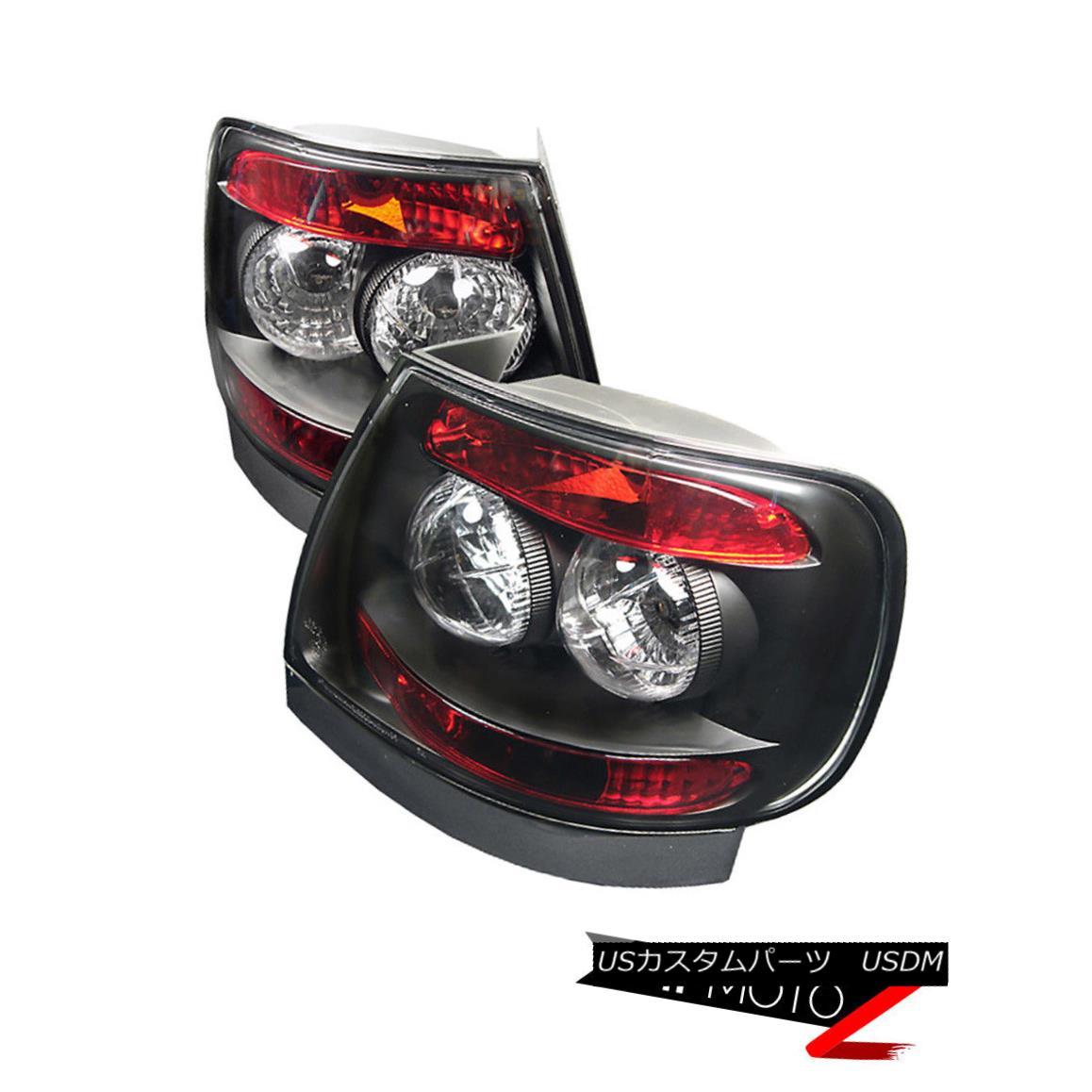 テールライト 1996-2001 Audi A4 B5 | 2000-2002 S4 Black Euro Rear Brake Tail Lights Assembly 1996-2001 Audi A4 B5 | 2000-2002 S4ブラック・ユーロ・リア・ブレーキ・テール・ライト・アセンブリ