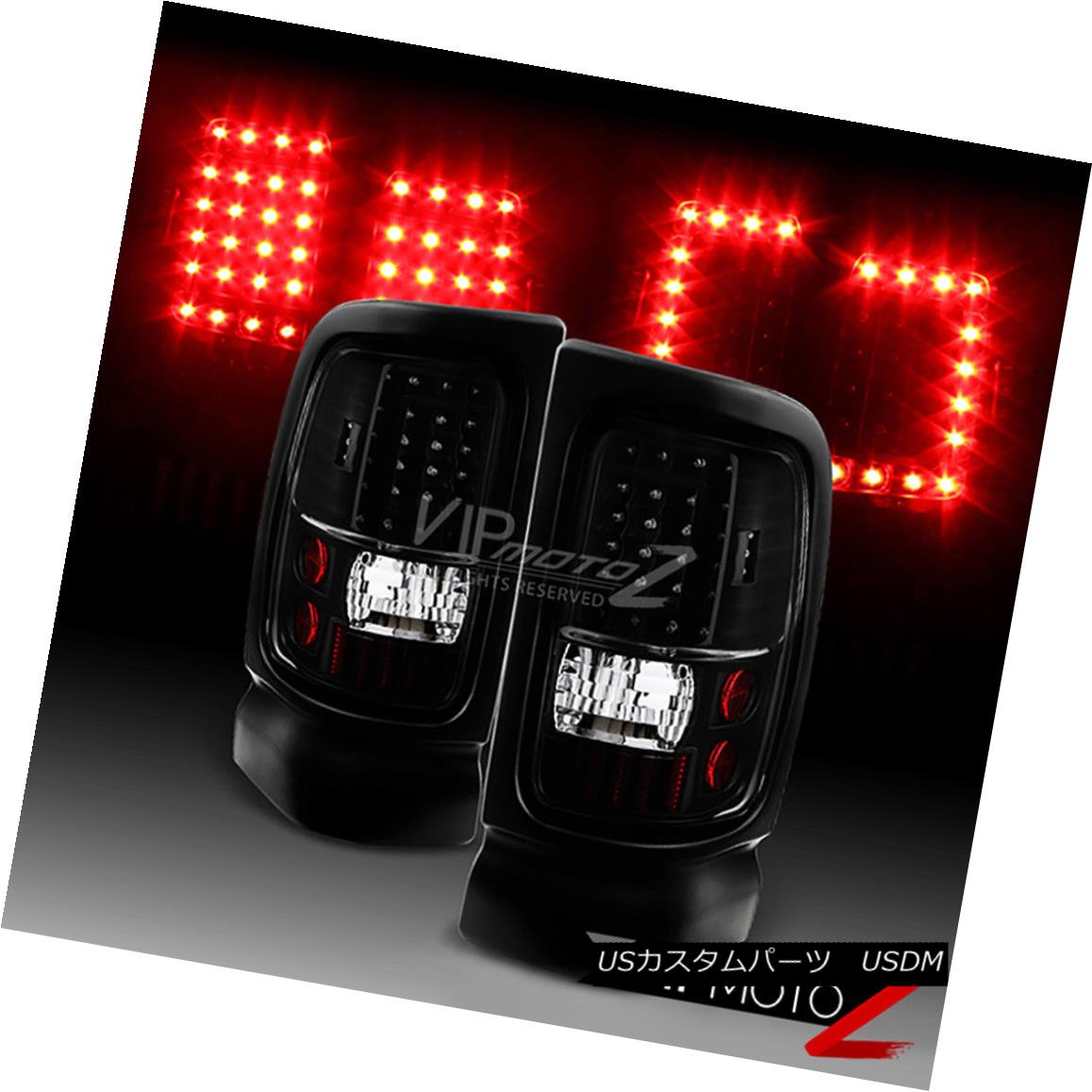 テールライト 1994-2001 Dodge Ram 1500 2500 3500 [Infinity Black] LED Brake Signal Tail Lights 1994-2001 Dodge Ram 1500 2500 3500 [Infinity Black] LEDブレーキ信号テールライト