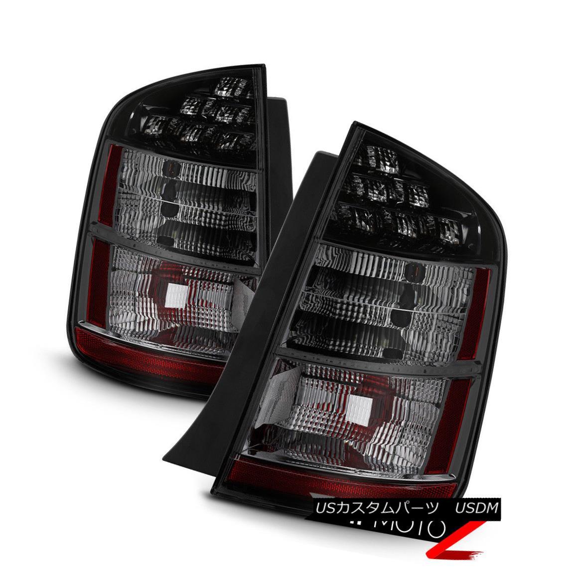 テールライト 2004-2009 Toyota Prius {TITANIUM SMOKE} Rear Parking Brake Tail Lights Lamps SET 2004-2009トヨタプリウス{TITANIUM SMOKE}リアパーキングブレーキテールライトランプSET