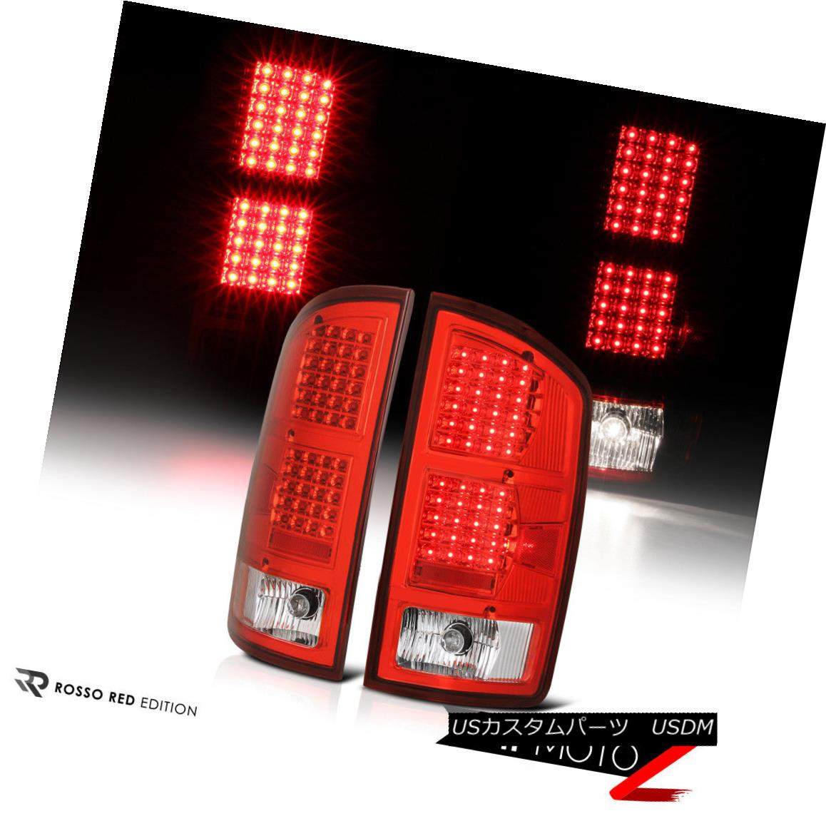 テールライト 2002-2006 Dodge RAM 1500 2500 3500 {Factory RED} LED Tail Lights Lamps Pair L+R 2002-2006 Dodge RAM 1500 2500 3500 {Factory RED} LEDテールライトランプペアL + R