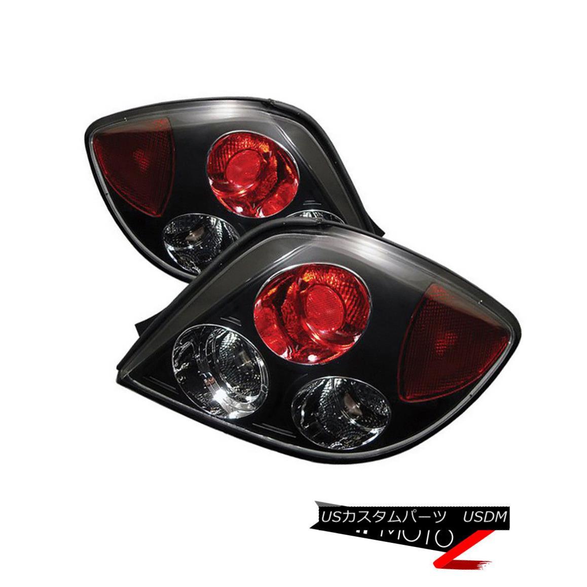 テールライト For 2003-2005 Tiburon GS/GT/SE Left+Right Black Altezza Tail Light 2003?2005年Tiburon GS / GT / SE左+右ブラックアルテッツァテールライト