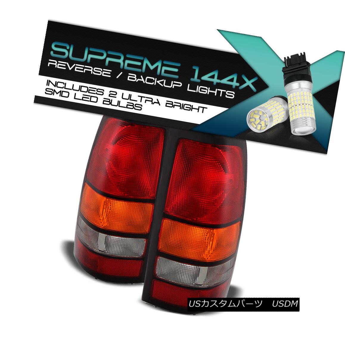 テールライト {Full SMD Backup} 2004-2007 GMC Sierra 1500 2500 3500