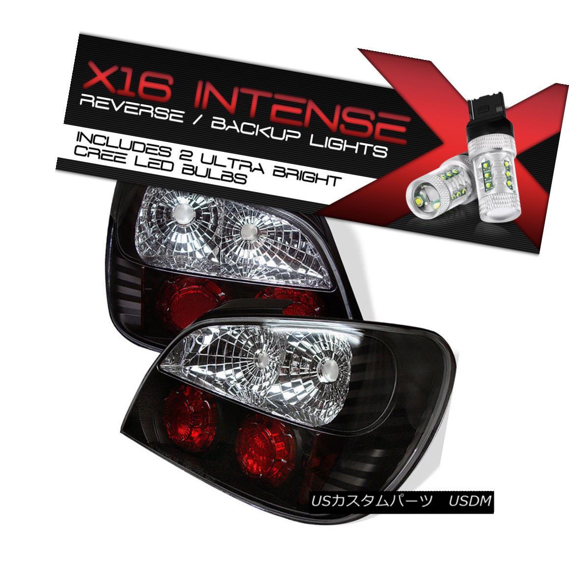 テールライト {CREE LED BACKUP} Fits 02-03 Subaru Impreza 2.5RS Altezza Tail Light Brake Lamp {クリーLEDバックアップ} 02-03スバルインプレッサ2.5RS適合Altezzaテールライトブレーキランプ