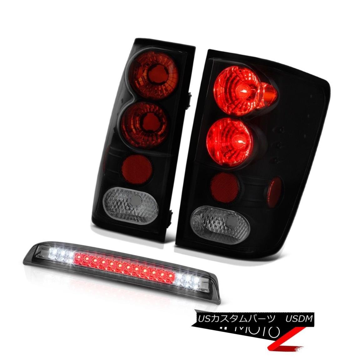 テールライト For 2004-2015 Titan SL NEW Sinister Black Smoke Tail Light Third Brake LED SMD 2004年?2015年Titan SL NEW Sinisterブラックスモークテールライト第3ブレーキLED SMD