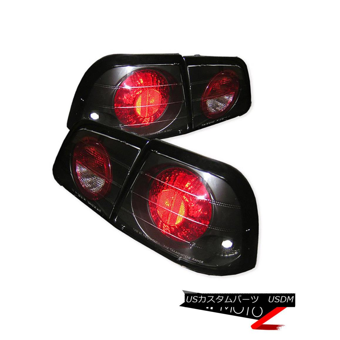 テールライト JDM Black Altezza Tail Light Signal Lamp For 97-99 Maxima V6 A32 VQ30 SE 97-99 Maxima V6 A32 VQ30 SE用JDM Black Altezzaテールライト信号ランプ