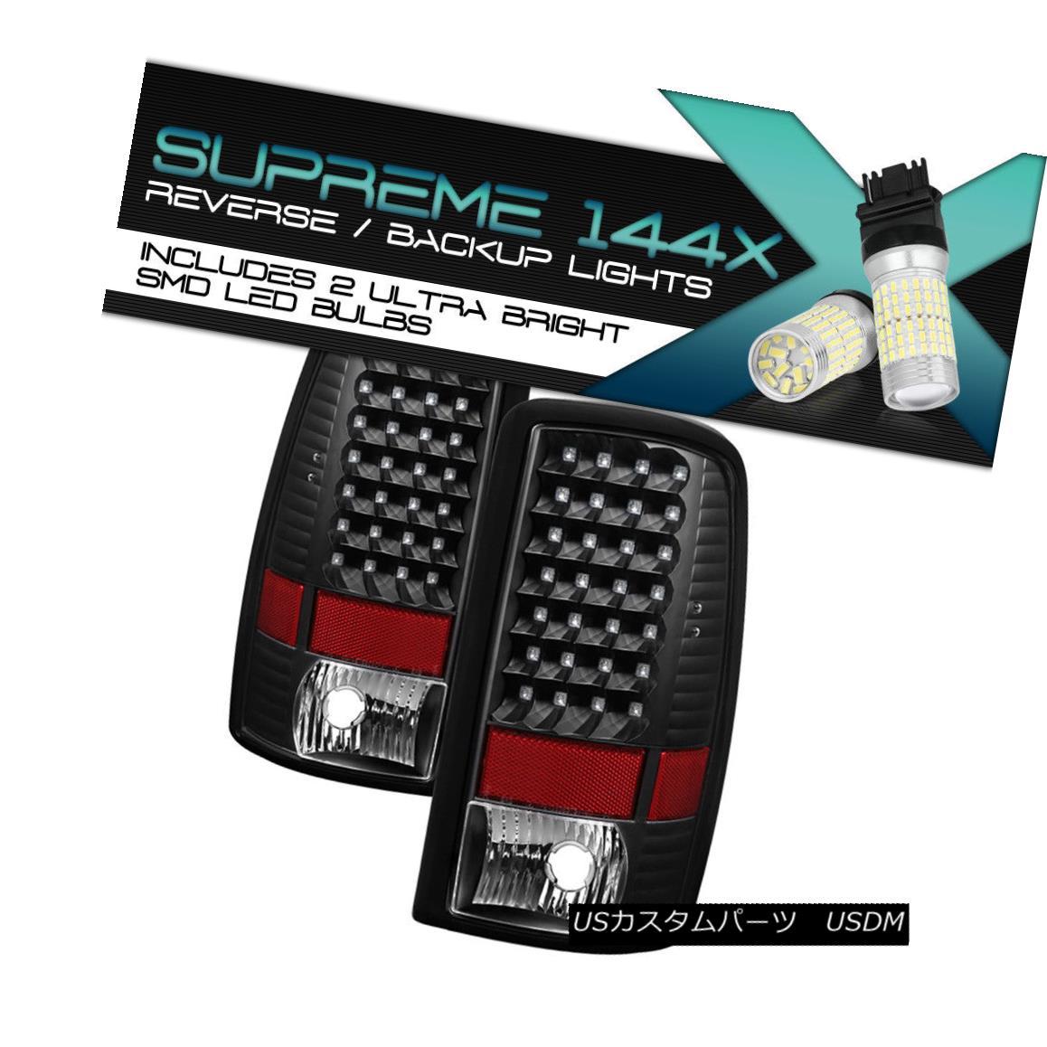テールライト [360 Degree SMD Reverse] 00-06 Chevy Tahoe Suburban LED Tail Light GMC Yukon XL [360度SMDリバース] 00-06シボレータホ郊外LEDテールライトGMCユーコンXL