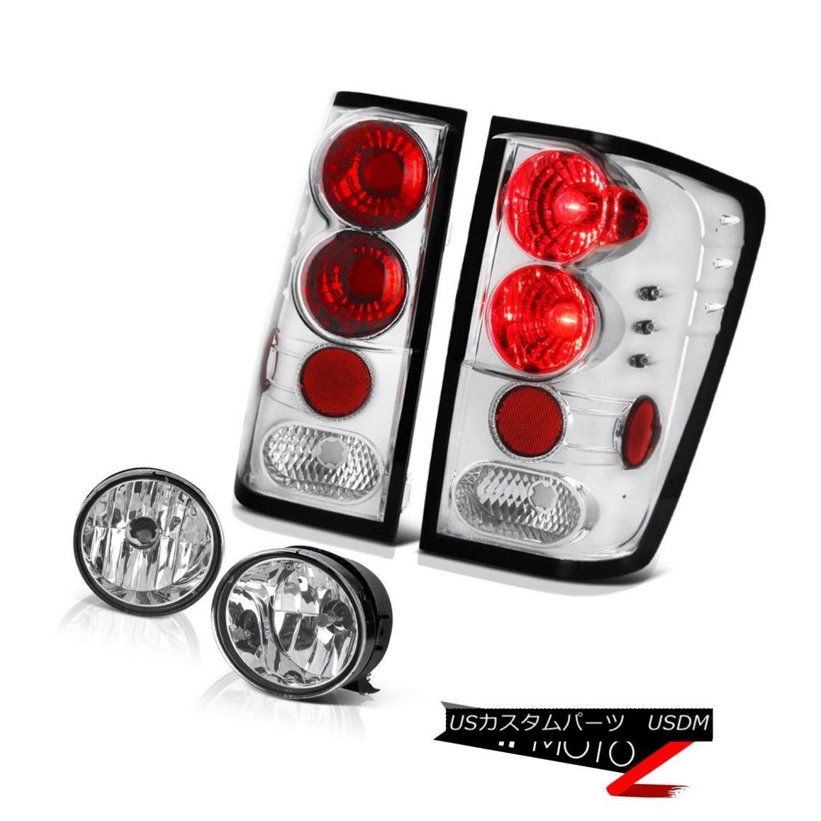テールライト For 04-15 2008 09 10 11 12 13 2015 Titan SE Rear Brake Tail Light Fog Lamp 04-15 2008 09 10 11 12 13 2015タイタンSEリアブレーキテールライトフォグランプ