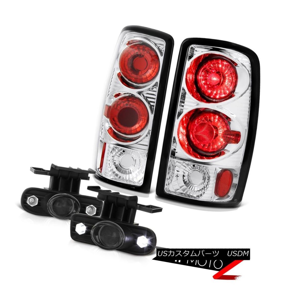 テールライト 00 01 02 03 04 05 06 Chevy Suburban 5.7L Altezza Tail Lights Projector Fog Lamps 00 01 02 03 04 05 06シボレー郊外5.7L Altezzaテールライトプロジェクターフォグランプ