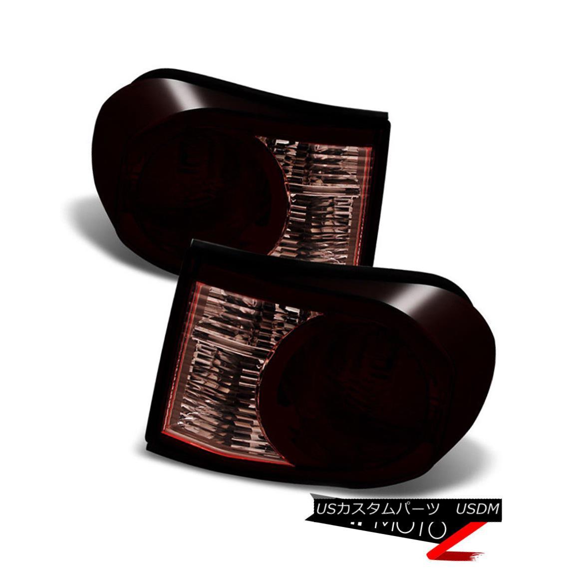 テールライト [JDM STYLE] 2007-2015 Toyota FJ Cruiser TRD Style Dark Smoke Red Rear Tail Light [JDM STYLE] 2007-2015トヨタFJクルーザーTRDスタイルダークスモークレッドリアテールライト