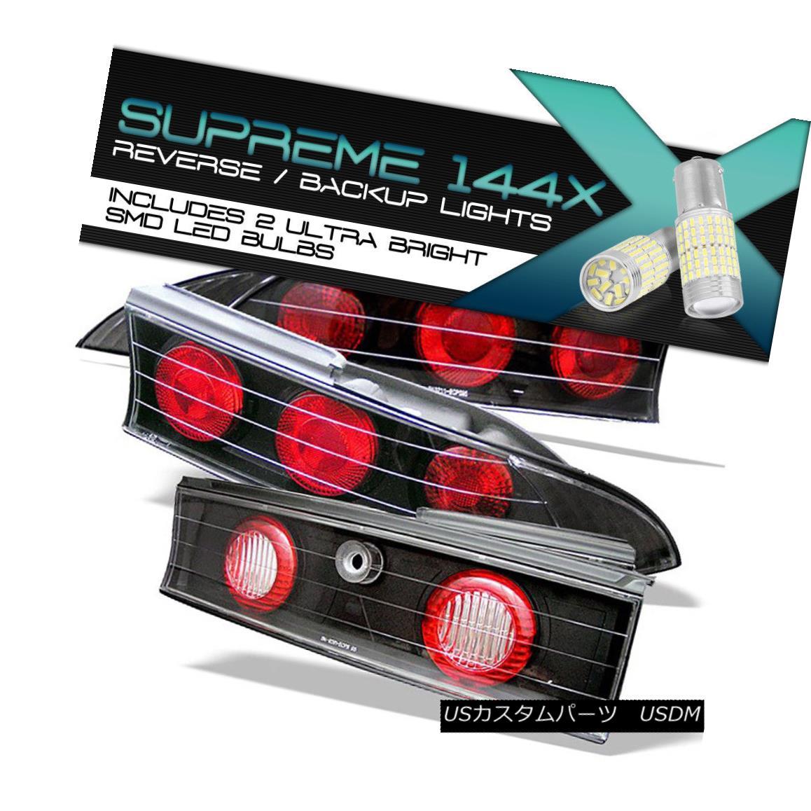 テールライト !FULL SMD REVERSE! 1995-1999 MIT Eclipse GT/GS/GTs Left+Right JDM LED Tail Light !FULL SMD REVERSE! 1995-1999 MIT Eclipse GT / GS / GTs左+右JDM LEDテールライト