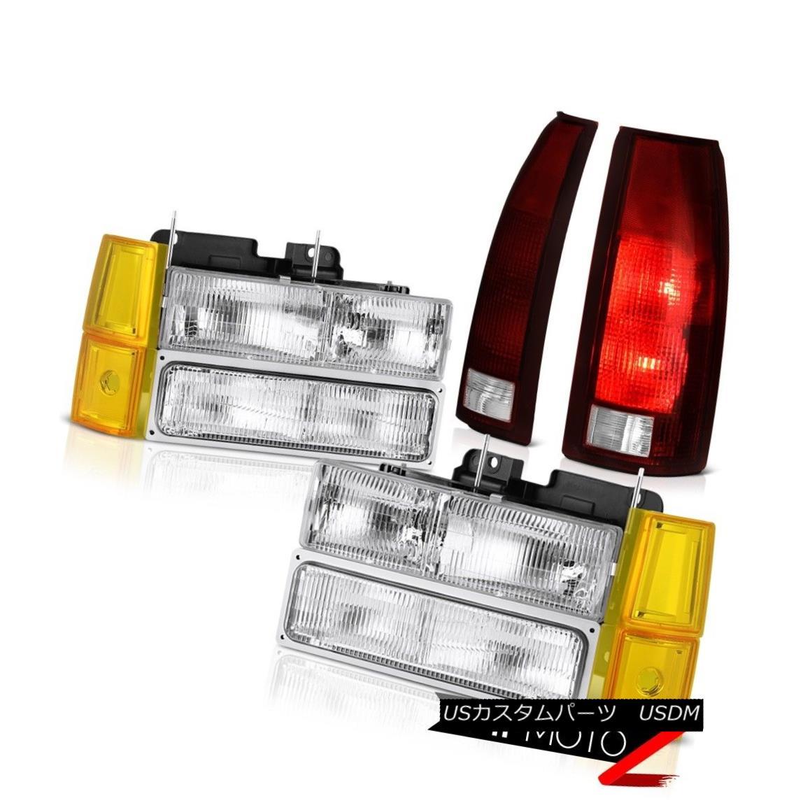 テールライト 94-98 Red Sierra 1500 Chrome Headlamps Corner Burgundy Headlamps Red 94-98 Taillights Factory Style 94-98 Sierra 1500クロームヘッドランプコーナーブルゴーニュレッドティアリーズ工場スタイル, P-star:e9e8a8ee --- officewill.xsrv.jp
