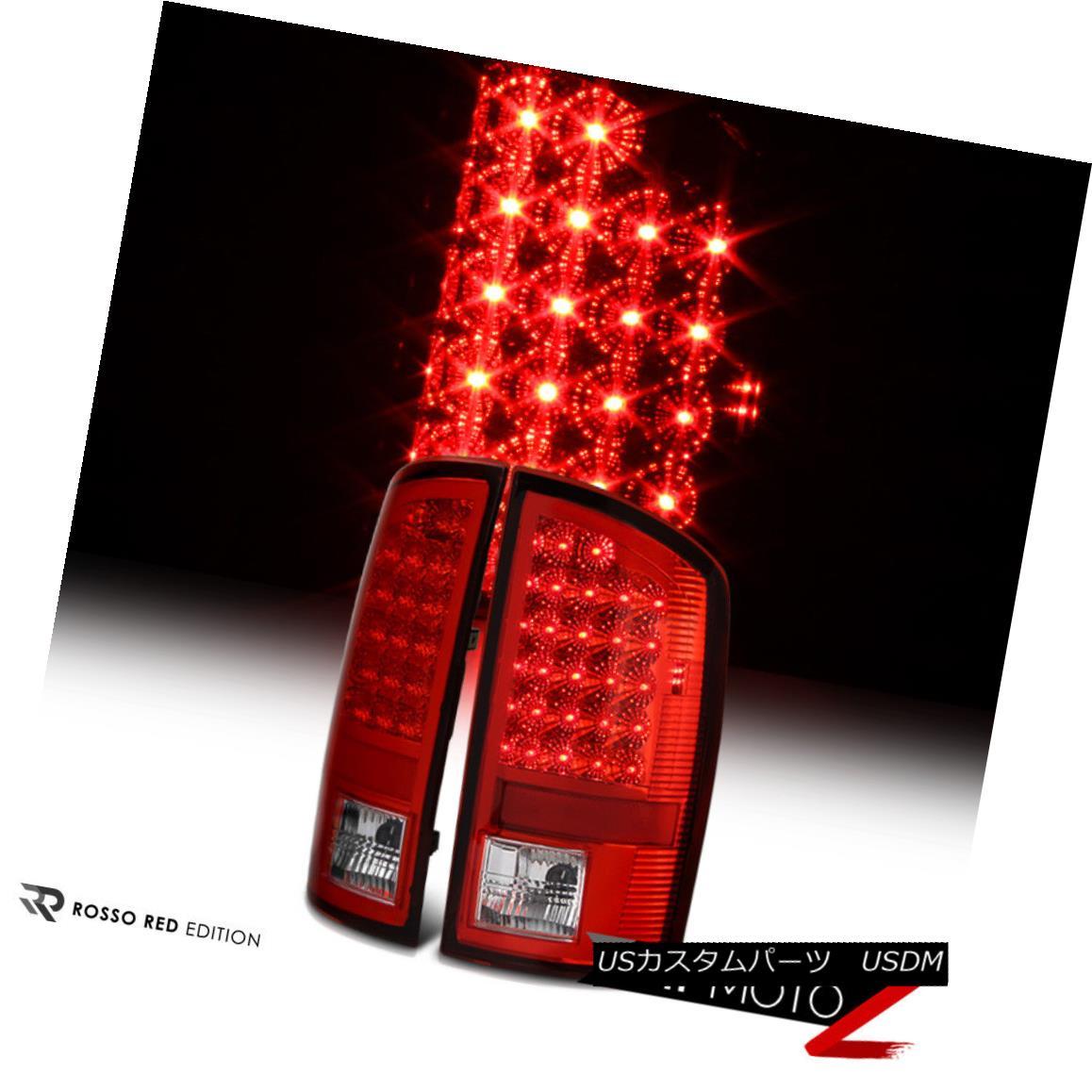 テールライト L+R Factory Style 02-06 Dodge RAM Truck 1500 LED Tail Light Signal Lamp L + Rファクトリースタイル02-06 Dodge RAMトラック1500 LEDテールライト信号ランプ