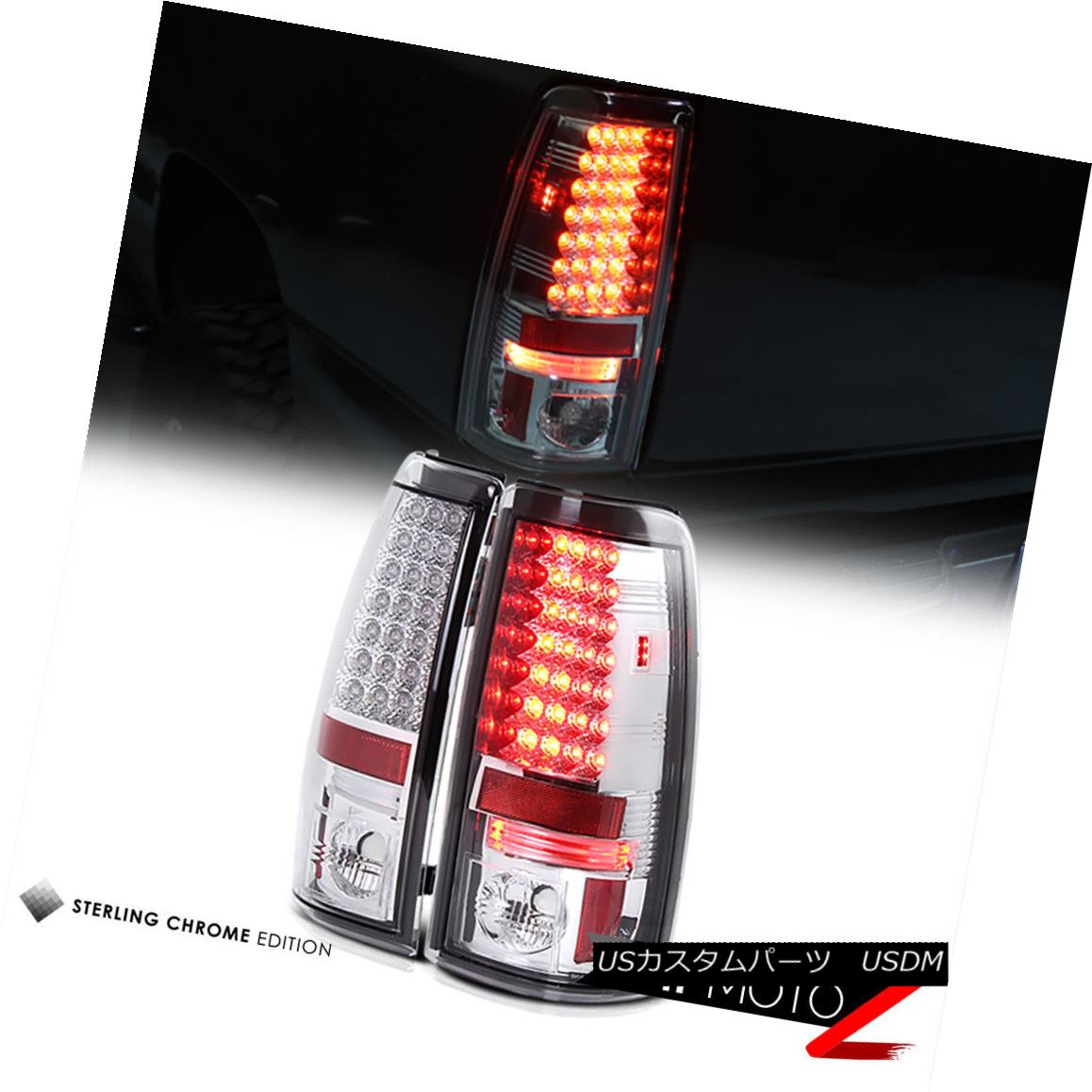テールライト 2003-2006 Chevy Silverado [EURO CHROME] LED Rear Tail Light PLUG&PLAY ERROR FREE 2003-2006 Chevy Silverado [EURO CHROME] LEDリアテールライトPLUG&PLAY ERROR FREE
