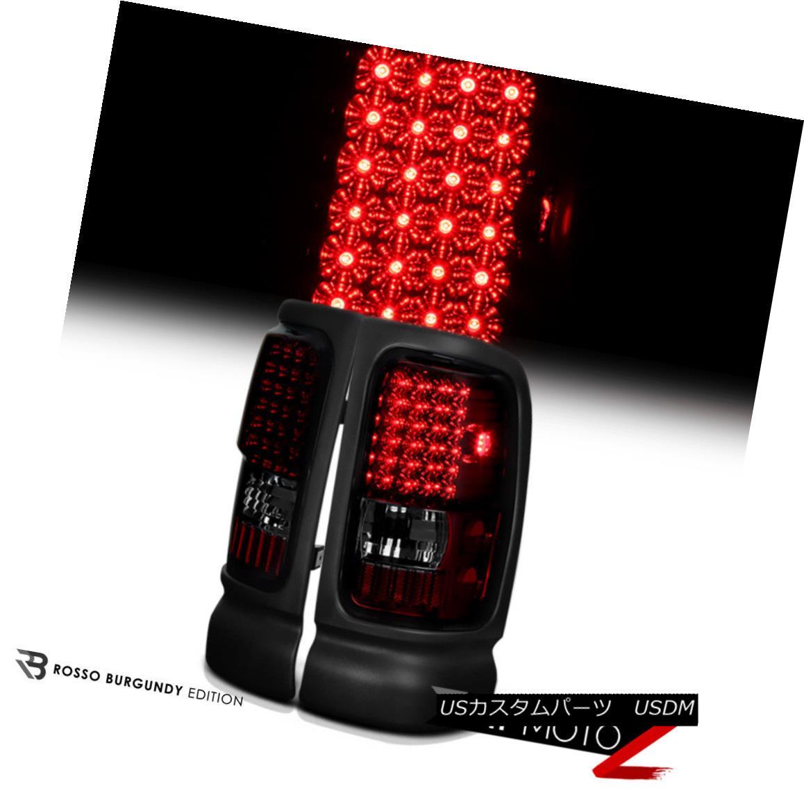 テールライト Lamps Dodge Signal Ram & 94-01 Pickup SMOKE+RED LED Brake & Turn Signal STOP Tail Light Lamps Dodge Ram 94-01ピックアップSMOKE + RED LEDブレーキ& ターンシグナルSTOPテールライトランプ, 銀座 東京フラワー:8b1784fa --- officewill.xsrv.jp