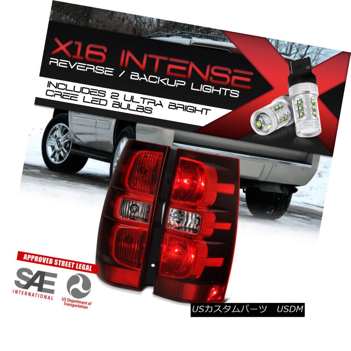 テールライト For!High-Power CREE Reverse! Tail XL Lights For Suburban 2007-2013 Tahoe Suburban Yukon XL SET ハイパワークリーリバース! 2007-2013タホ郊外ユーコンXLセットのテールライト, 低糖専門キッチン源喜:de17528b --- officewill.xsrv.jp