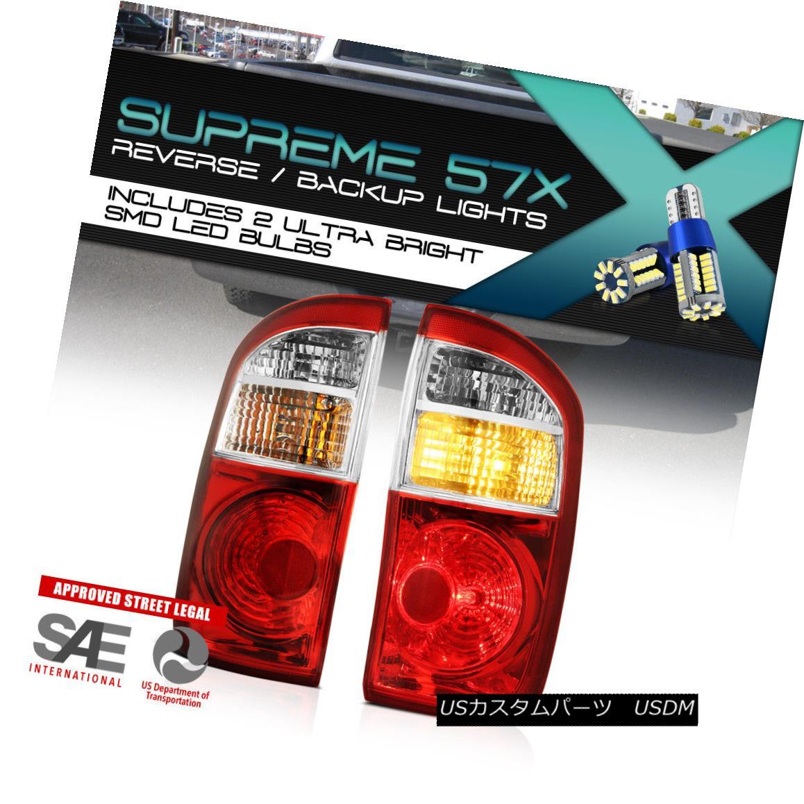 テールライト [360 [360 DEGREE SMD BACKUP] Tail Lights Lamps Tundra Cab SET For Toyota Tundra Double Cab 04-06 [360°SMD BACKUP]テールライトランプSET for Toyota Tundra Double Cab 04-06, シカベチョウ:537221e8 --- officewill.xsrv.jp