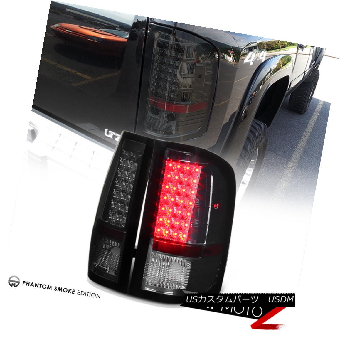 テールライト 2007-2013 Titanium Chevy Silverado テールライト SS Tail Titanium Smoke LED Tail Light Brake Signal Lamp Set 2007-2013シボレーシルバラードSSチタン煙LEDテールライトブレーキ信号ランプセット, 風船唐綿:0d37e227 --- officewill.xsrv.jp